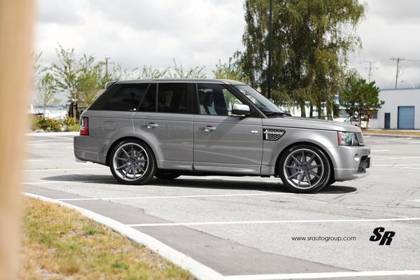 SR Auto Group приукрасил Range Rover 2012