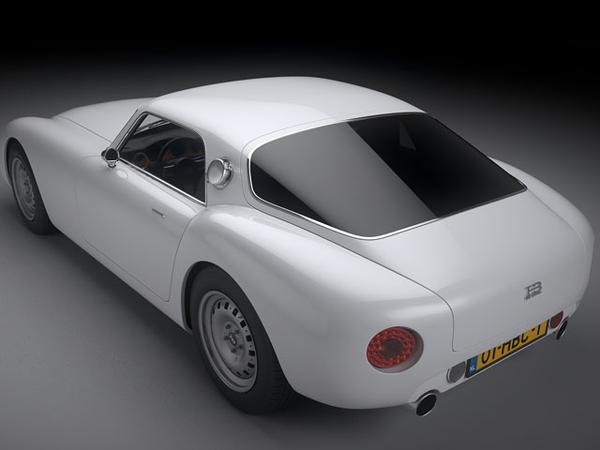 Объявлена цена эксклюзивного спорт-кара HB Coupe