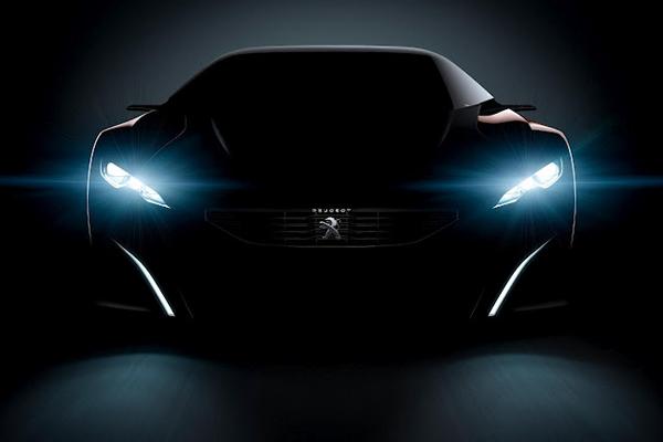 В Париже покажут гибридный суперкар Peugeot Onyx