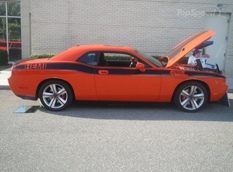 800-сильный Dodge Challenger SRT8 Twin-Turbo