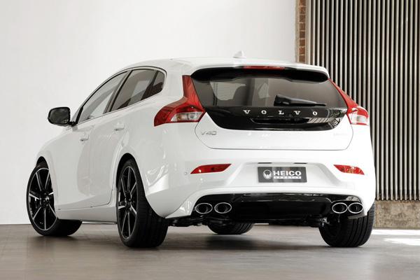 Heico Sportiv начал продажу пакета для Volvo V40
