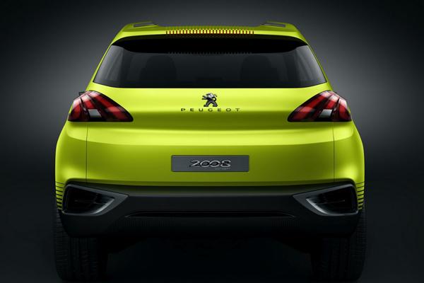 В Париж привезут Peugeot 2008 Concept
