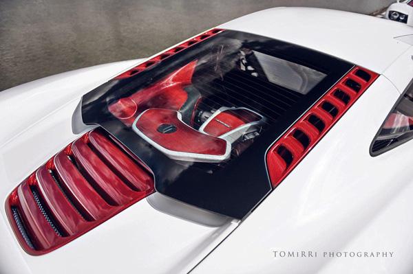 McLaren показал MP4-12C Bespoke Project 8