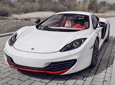 McLaren показал MP4-12C Bespoke Project 8