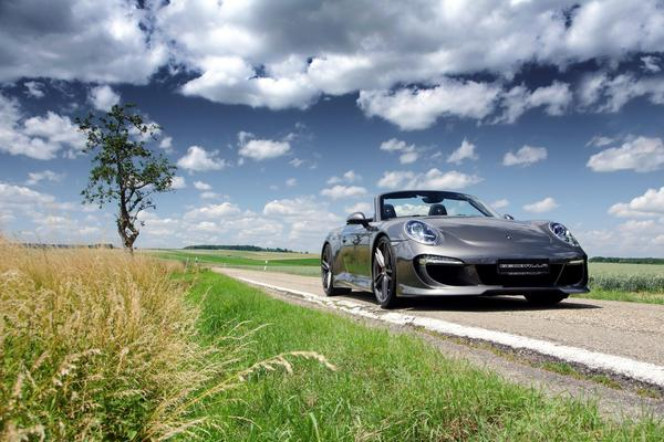 В Gemballa «доработали» Porsche 911 Cabriolet S