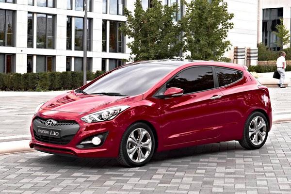 Hyundai показал трехдверный хэтчбек i30