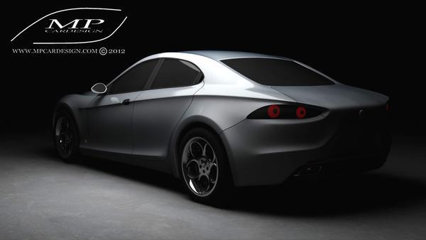 Первые фото возможного Alfa Romeo Orazio Satta