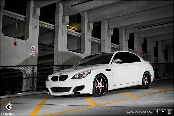 BMW M5 E60 от тюнинг-ателье K3 Projekt