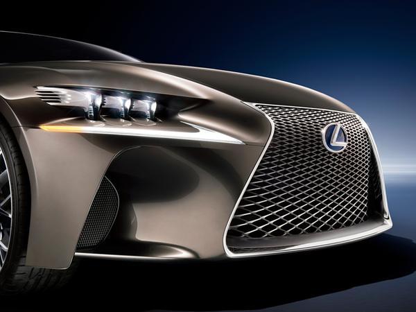 Премьера будущего Lexus LF-CC состоится в Париже