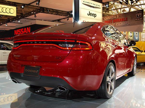 Dodge готовит новый седан Dart GTS Tribute