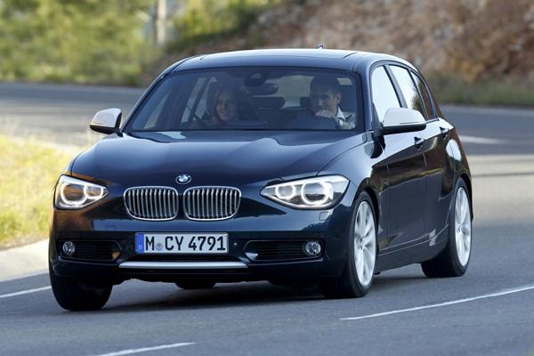 BMW подготовил полноприводные хэтчбеки 1-Series