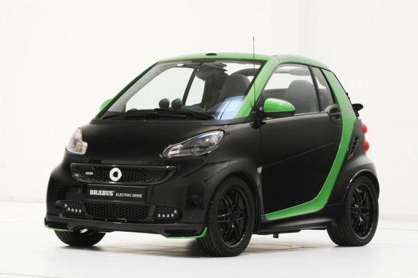 Mercedes представит в Париже три электрокара