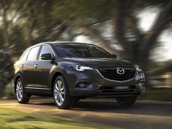 Mazda опубликовала первые изображения CX-9 2013