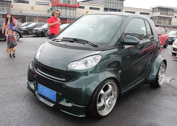 Спортивный Smart ForTwo - китайский вариант