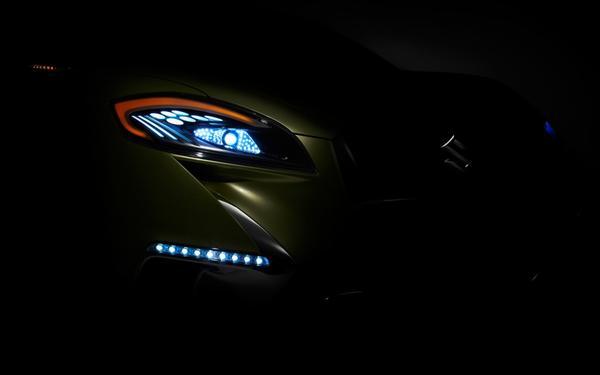 Suzuki показал второе тизер-фото S-Cross Concept