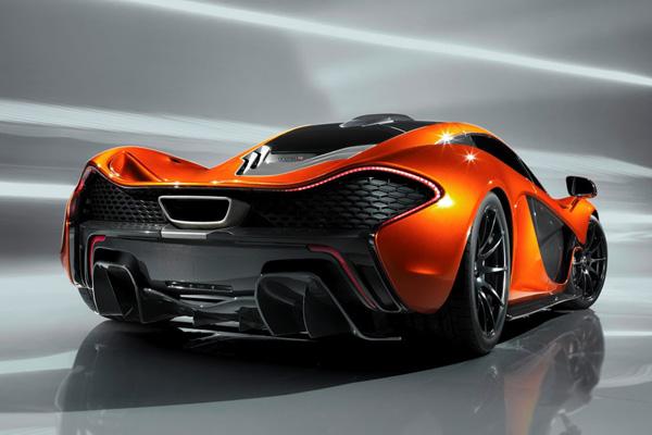 McLaren рассекретил внешность нового суперкара P1