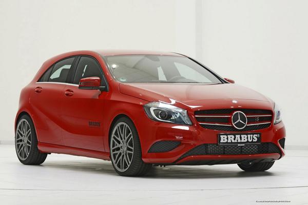 Brabus работает над пакетом для Mercedes A-Class