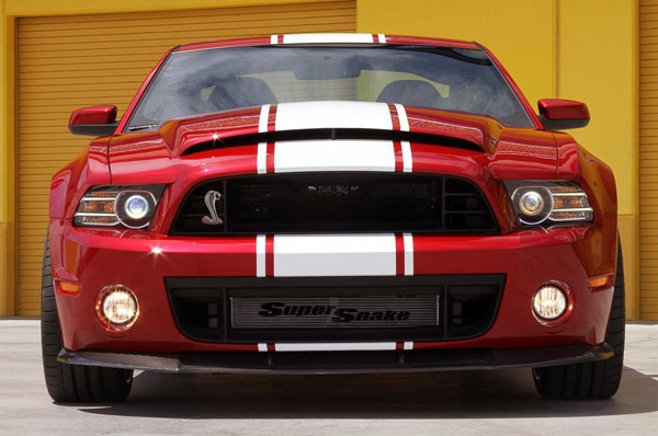 Shelby GT500 Super Snake «запрягли» 850 лошадьми