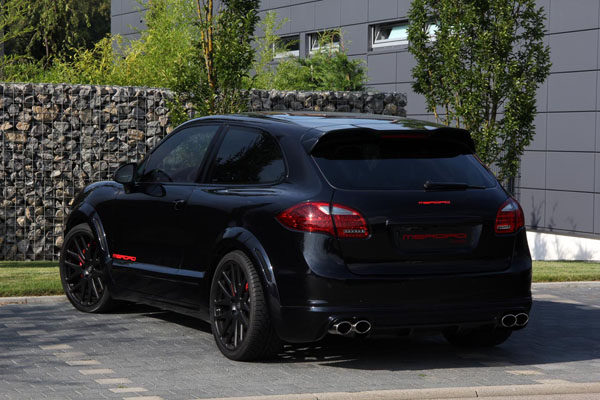 Porsche Cayenne Turbo Coupe от Merdad Collection