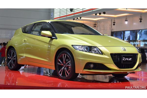 Honda официально представила новый CR-Z