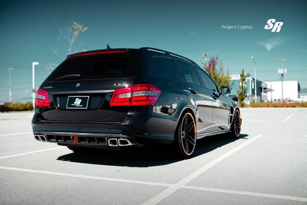 Mercedes-Benz E63 AMG «Project Cyphur» от SR Auto