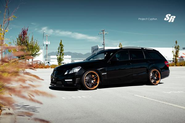 Mercedes-Benz E63 AMG «Project Cyphur» от SR Auto