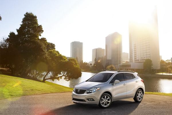 GMС объявила цены на кроссовер Buick Encore 2013