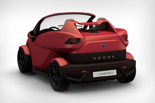 Neoma Roadster - электрический родстер от Lumeneo