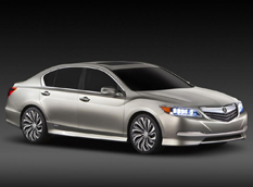 Серийная версия Acura RLX появится в 2014 году