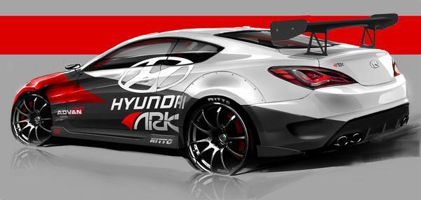 Hyundai и ARK представят Genesis Coupe R-Spec
