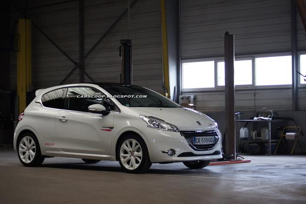 Clara Automobile рассказал о Peugeot 208 Rallye