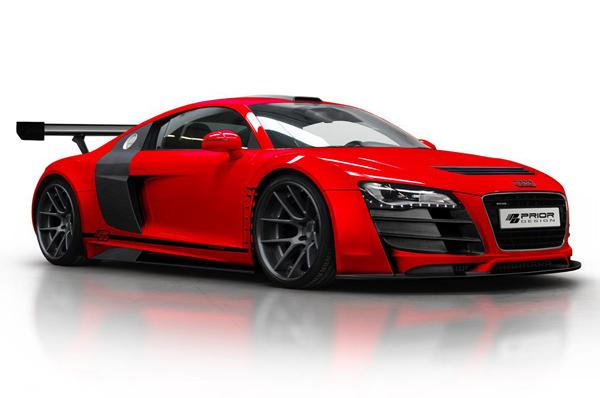 Prior Design стилизовал Audi R8 под болид GT3