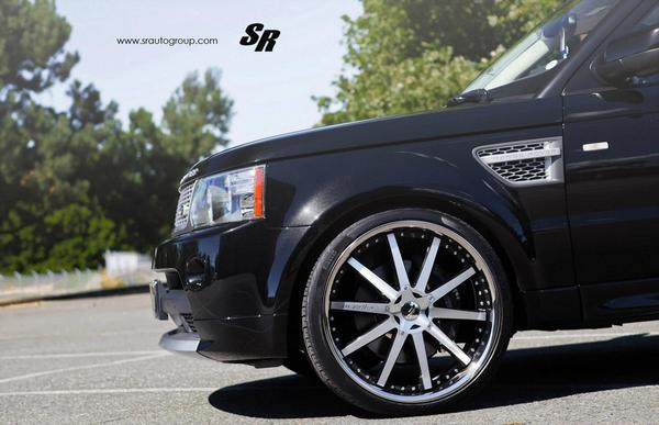 SR Auto снабдили Range Rover 24-дюймовыми дисками