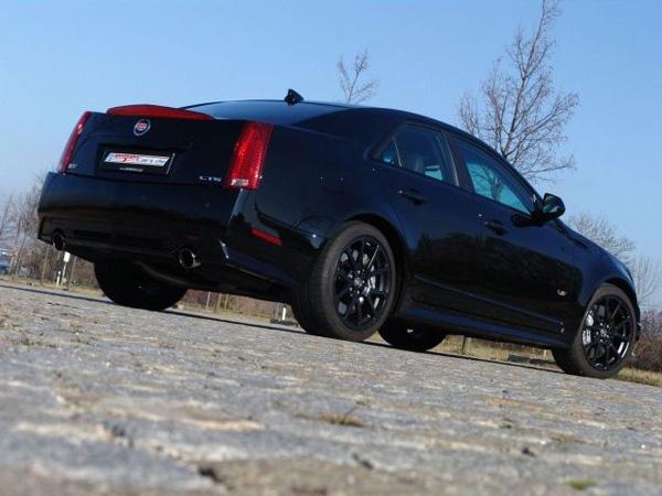 «Заряженный» Cadillac CTS-V теперь и в России