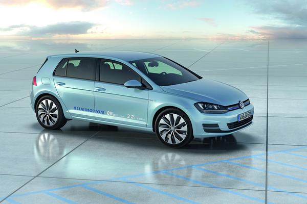 Volkswagen поведал характеристики Golf BlueMotion