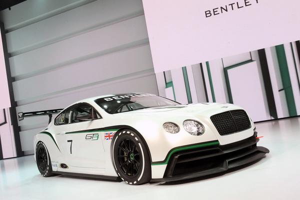 Bentley вернется в гонки с помощью Continental GT3