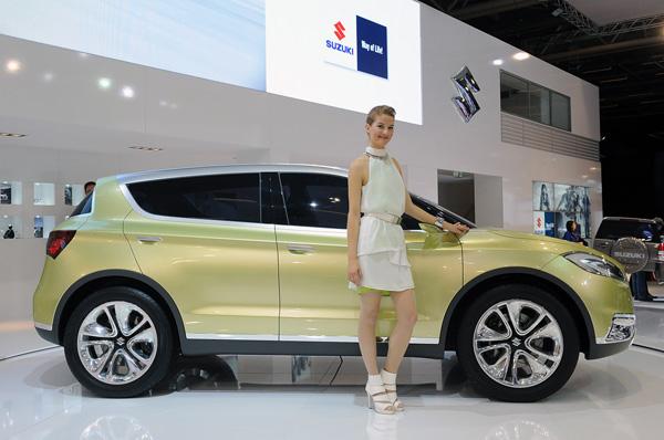 В Париже прошла премьера концепта Suzuki S-Cross