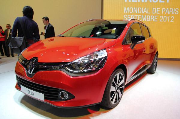 Renault привез в Париж универсал Clio Estate