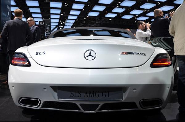 Mercedes SLS AMG GT Roadster - новинка Парижа