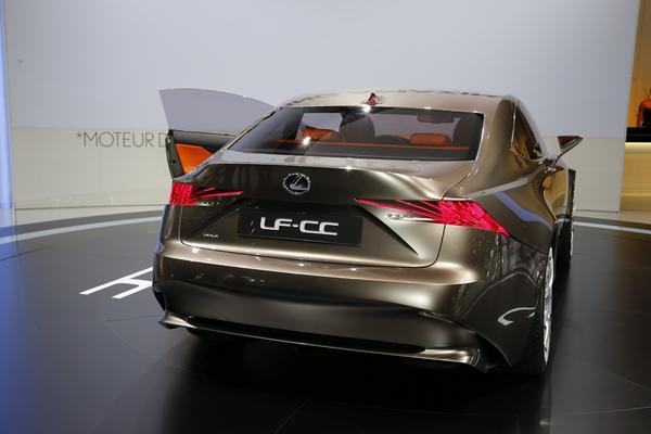 Lexus продемонстрировал публике концепт LF-CC