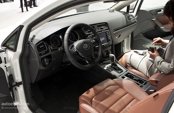В России продажи VW Golf 7 начнутся весной 2013-го