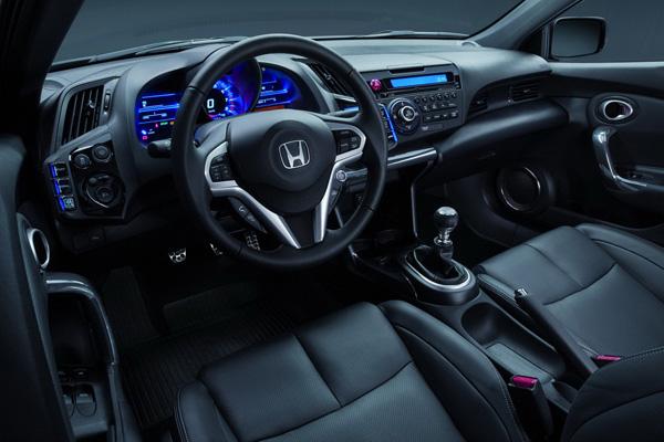 Honda CR-Z 2013 - новинка Парижского автосалона