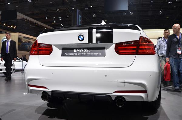 BMW 335i M Performance - Парижская премьера