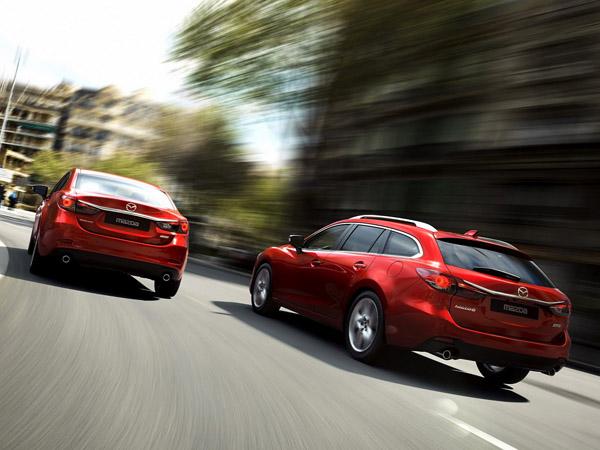 В Париже объявили стоимость новой Mazda 6 2013