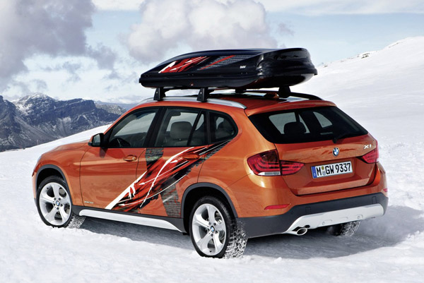 BMW покажет спецверсию X1 Power Ride