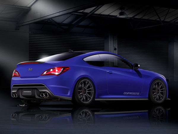 Cosworth готовит Genesis Racing Series Concept