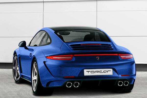 TopCar создает пакет для Porsche 911 Carrera 4/4S