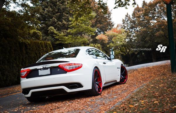 Maserati GranTurismo «Deathbolt» от SR Auto Group