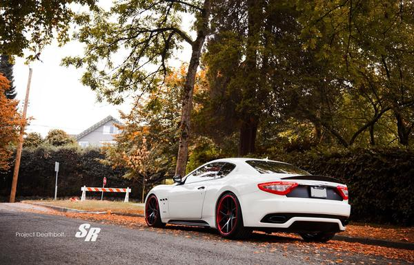 Maserati GranTurismo «Deathbolt» от SR Auto Group
