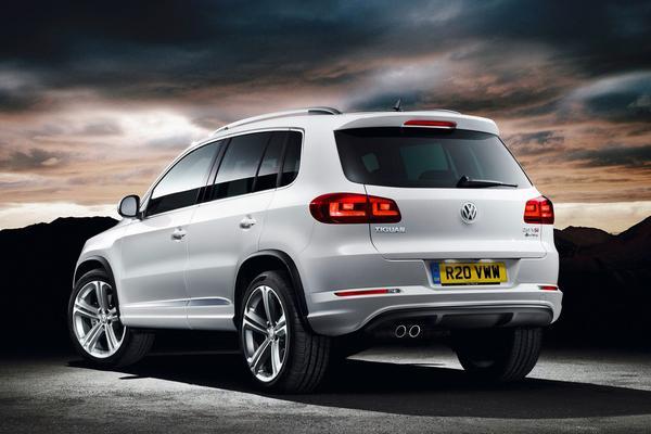 Volkswagen снабдил Tiguan комплектацией R-Line
